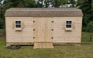 New 10' x 20' x 7' Gambrel Pine Shed for Sale in Rehoboth, MA