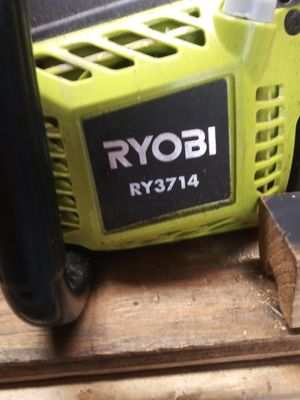 "Ryobi 14"" chain saw bought 2 months ago asking $60 for Sale in Obetz, OH"