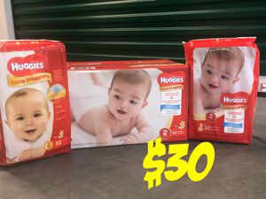 Size 2 Huggies for Sale in Fort Washington, MD