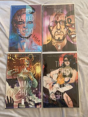 Wicked and Divine 1-4 signed by creative team for Sale in Toms River, NJ