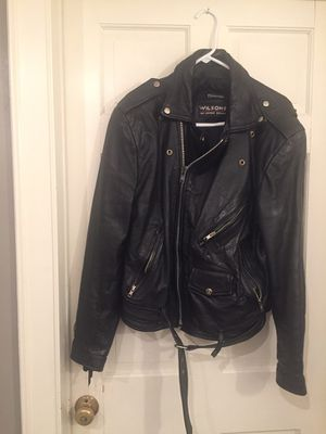 Leather motorcycle jacket for Sale in Weymouth, MA