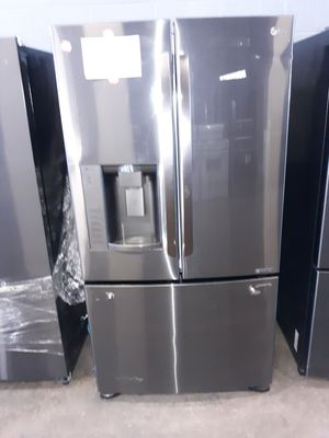 LG FRENCH DOOR REFRIGERATOR AT DMV WHOLESALE, AS IT IS for Sale in Lorton, VA