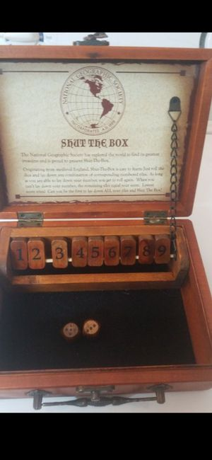 WOOD SHUT THE BOX for Sale in Delray Beach, FL
