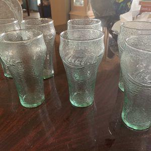 Vintage Coca-Cola Glasses for Sale in Wildomar, CA
