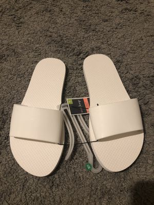 White sandals for Sale in Lawrence, MA