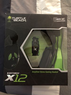Turtle Beach x12 Headset for Xbox 360 for Sale in Murrysville, PA