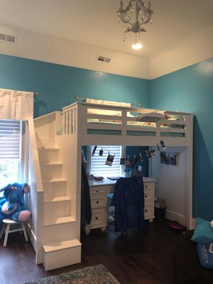 Pottery Barn Twin Loft Bed for Sale in Northbrook, IL