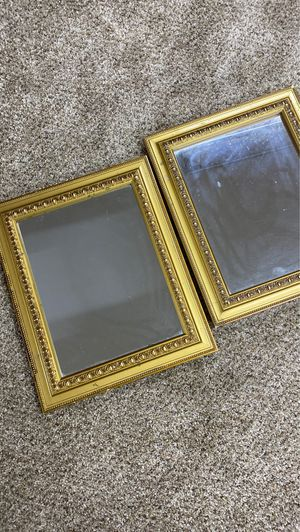 Mirror trays for make up or perfume for Sale in Westlake, OH