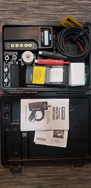Midtronics PowerSensor Micro 700 Battery Starting Charging Analyzer for Sale in Los Angeles, CA