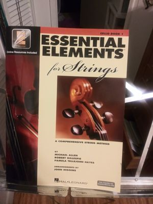 Essential elements for strings book 1 cello for Sale in TEMPLE TERR, FL