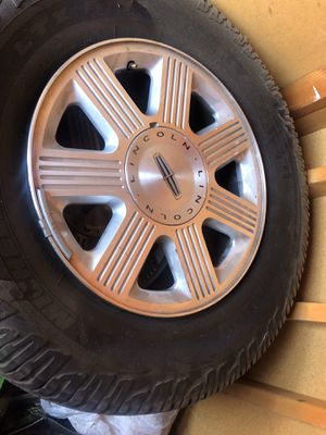 """4 Lincoln 18"""" wheels for Sale in Carmichael, CA"""
