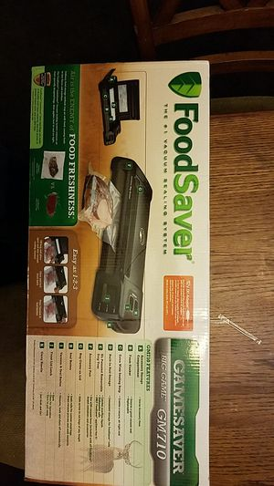 Foodsaver gamesaver GM710 for Sale in Fremont, CA