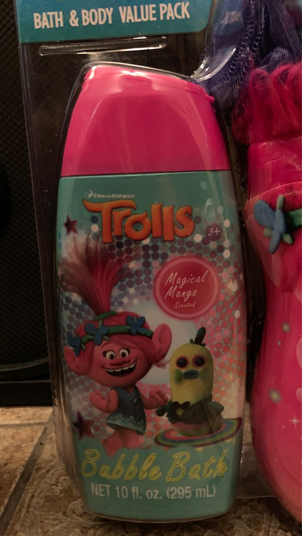 Trolls bath and body value pack