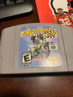 Nintendo 64 excitebike cartridge for Sale in Chandler, AZ
