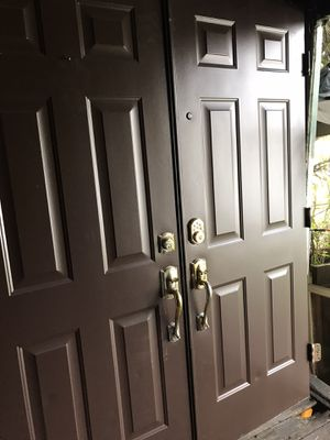 Exterior doble doors 30 x80. Metal. $90 for Sale in Miami, FL