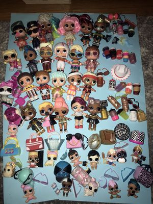 Lol Dolls huge lot of 37! for Sale in Portland, OR