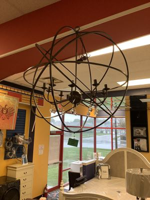 New Leonora 10 Light Unique Globe Chandelier for Sale in Virginia Beach, VA