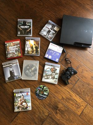 PS3 + games for Sale in Nashville, TN