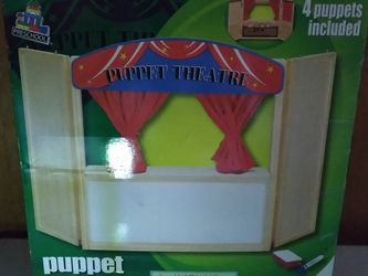 In Box Childs Puppet Theater1 for Sale in Fresno,  CA