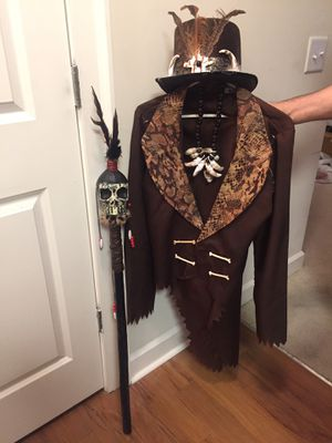 Halloween costume witch doctor for Sale in Atlanta, GA
