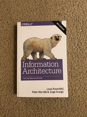 Information Architecture: For the Web and Beyond 4th Edition for Sale in Santa Clara, CA