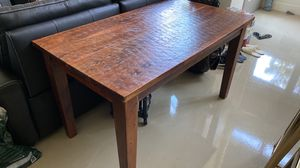 Solid Wood Dining + Console + End Tables $225 OBO for Sale in Oakland, CA