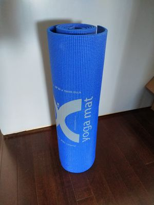Blue yoga mat for Sale in Baltimore, MD