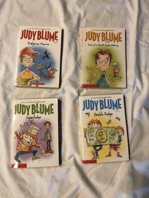 4 - Judy Blume Books for Sale in Sacramento, CA