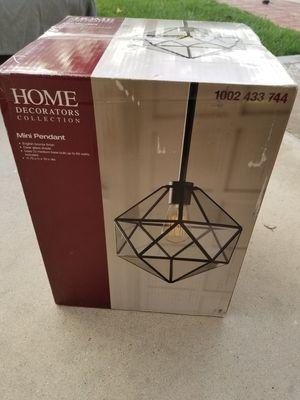Home Decorators Collection 1-Light English Bronze Hanging Pendant for Sale in Murrieta, CA