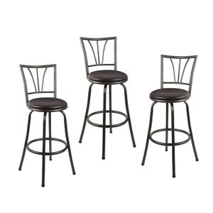 Adjusta ble Height Swivel Bar Sto ol (Set of 3) for Sale in Arcadia, CA
