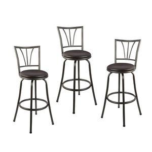 Adjusta ble Height Swivel Bar Sto ol (Set of 3) for Sale in Arcadia, CA
