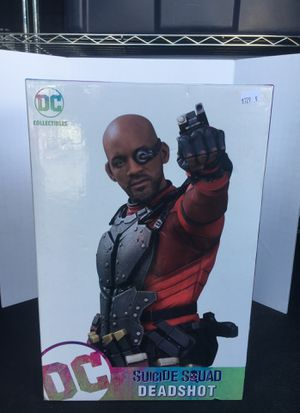 Dc Collectibles Suicide squad Deadshot resin statue for Sale in San Diego, CA