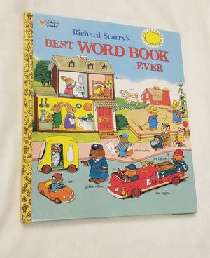 "Richard Scarry ""Best Word Book Ever"" for Sale in Orange, TX"