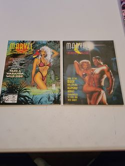 Marvel Swimsuit Special Issue 1 Marvel Comics 1992 And Issue 3 1994, High Grade Raw Unread Lot, Very Fine-Near Mint, Storm Wakanda X Men, Hildebrandt for Sale in Fresno,  CA