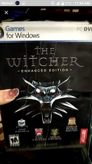 The Witcher- games for windows for Sale in Wichita, KS