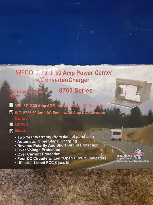30 amp trailer or RV power center