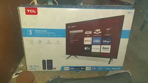 "TCL 32"" 3-SERIES ROKU SMART TV for Sale in Chandler, AZ"