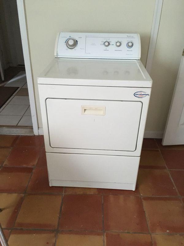 Whirlpool gold dryer