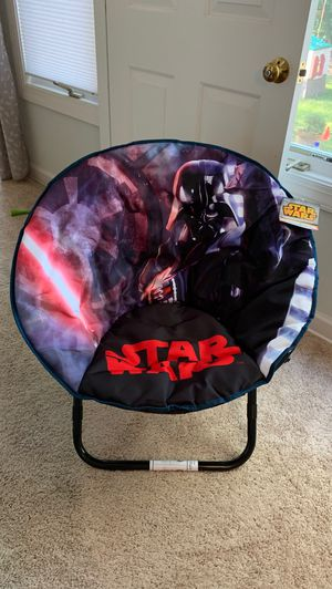 Star Wars saucer folding chair-BNWT for Sale in Chesapeake, VA
