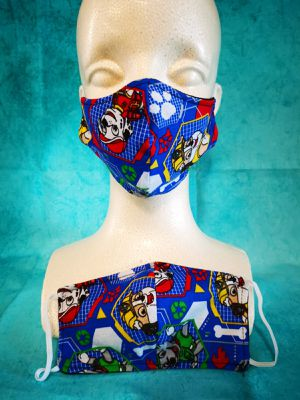 Kids Face mask (Paw Patrol): Hand made mask, reversible, reusable, washer and dryer safe. for Sale in Long Beach, CA