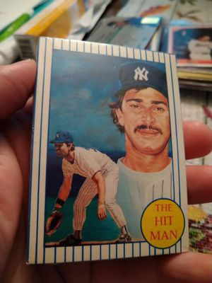 Don Mattingly 1986 Renata Galasso The Hit Man 30 Baseball Cards Set Seal New for Sale in Port Richey, FL