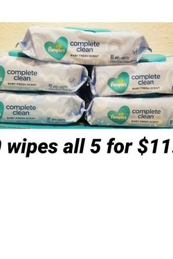 Pampers Wipes All For $11 for Sale in Los Angeles,  CA