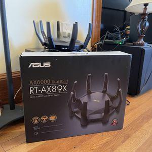 ASUS AX89X WiFi 6 10Gb for Sale in Boston, MA
