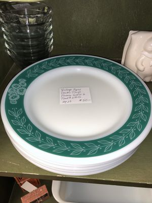 Vintage Pyrex double tough plates for Sale in La Habra, CA