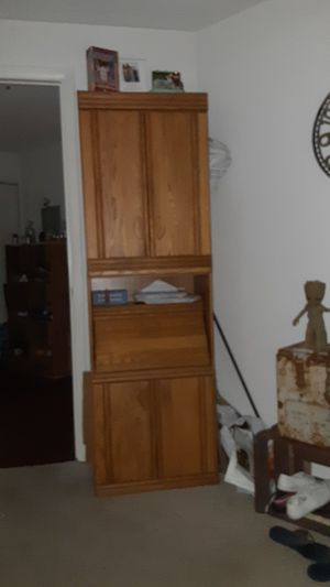 Tall secretary desk with hidden compartments for Sale in Largo, FL