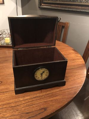 Hide a box and a clock for Sale in Seattle, WA