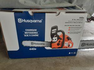 New Husqvarna 440e Chainsaw for Sale in Glenarden, MD