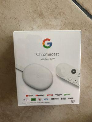 Chromecast with google tv for Sale in Chula Vista, CA