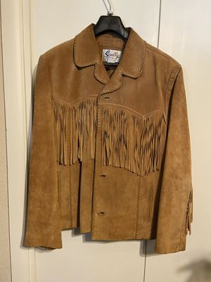 Men's leather western jacket for Sale in Glendale, AZ