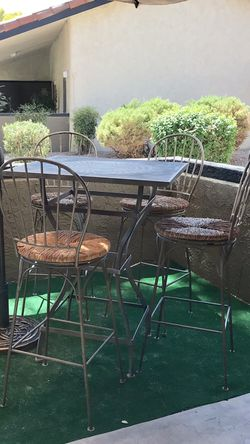 Wrought iron patio furniture for Sale in Scottsdale,  AZ